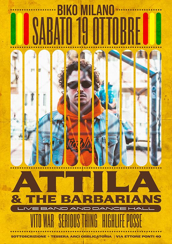 Attila and The Barbarians