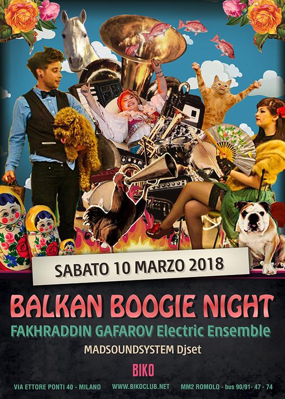 Balkan Boogie Night