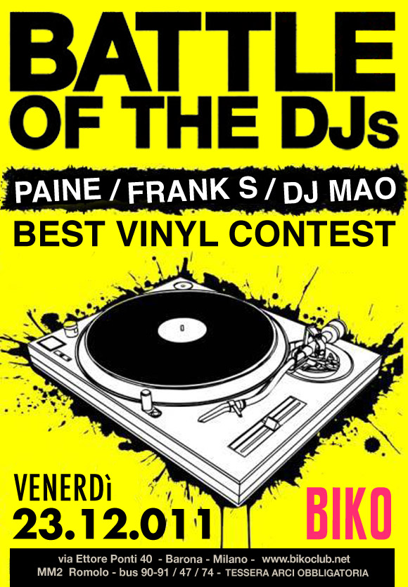 Battle of the DJs
