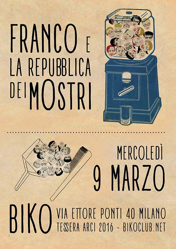 Franco e la Repubblica dei Mostri