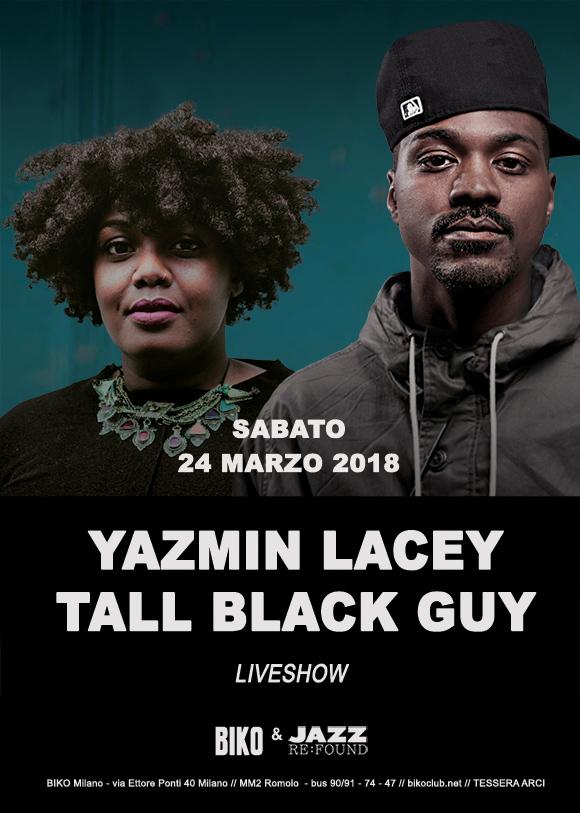 YazminLacey Tall Black Guy