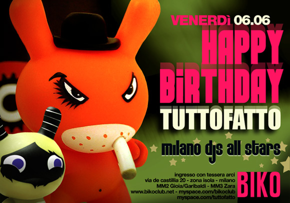 Happy Birthday Tuttofatto