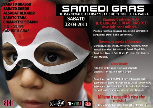 SAMEDI GRAS 2011