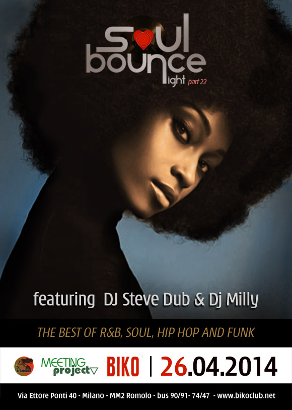 Soul Bounce Night